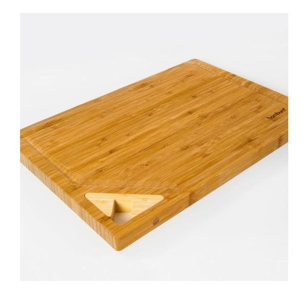 Bambusová doska na krájanie Panpas, 38x26