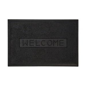 Čierna rohožka s nápisom Premier Housewares