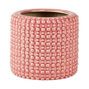 Ružový keramický kvetináč Villa Collection, ∅16cm