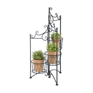 Liatinový stojan na 3 kvetináče Esschert Design