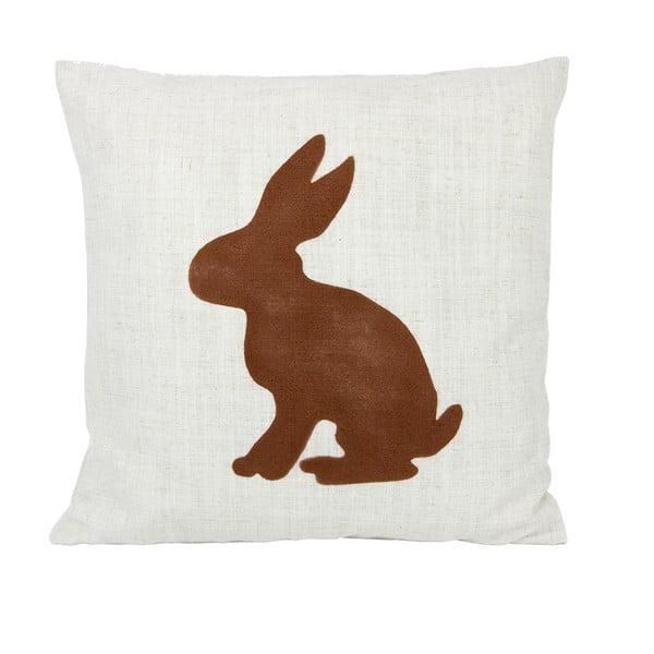 Vankúš s králikom 50x50 cm