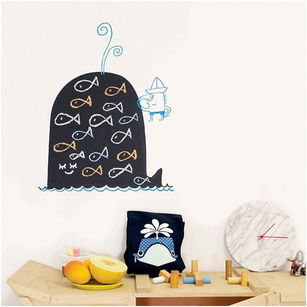Samolepiaca tabuľa Whale