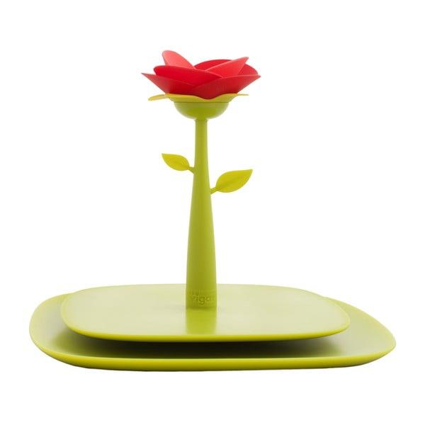 Držiak na servítky Vigar Green Flower