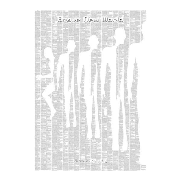 Knižný plagát Koniec civilizácie, 70x100 cm