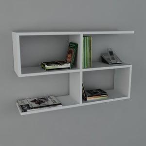 Polica Belitz Book White, 22x90x55,5 cm