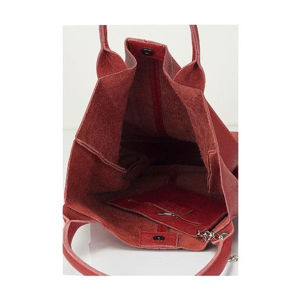 Kožená kabelka Giorgio Costa 15025 Bordo