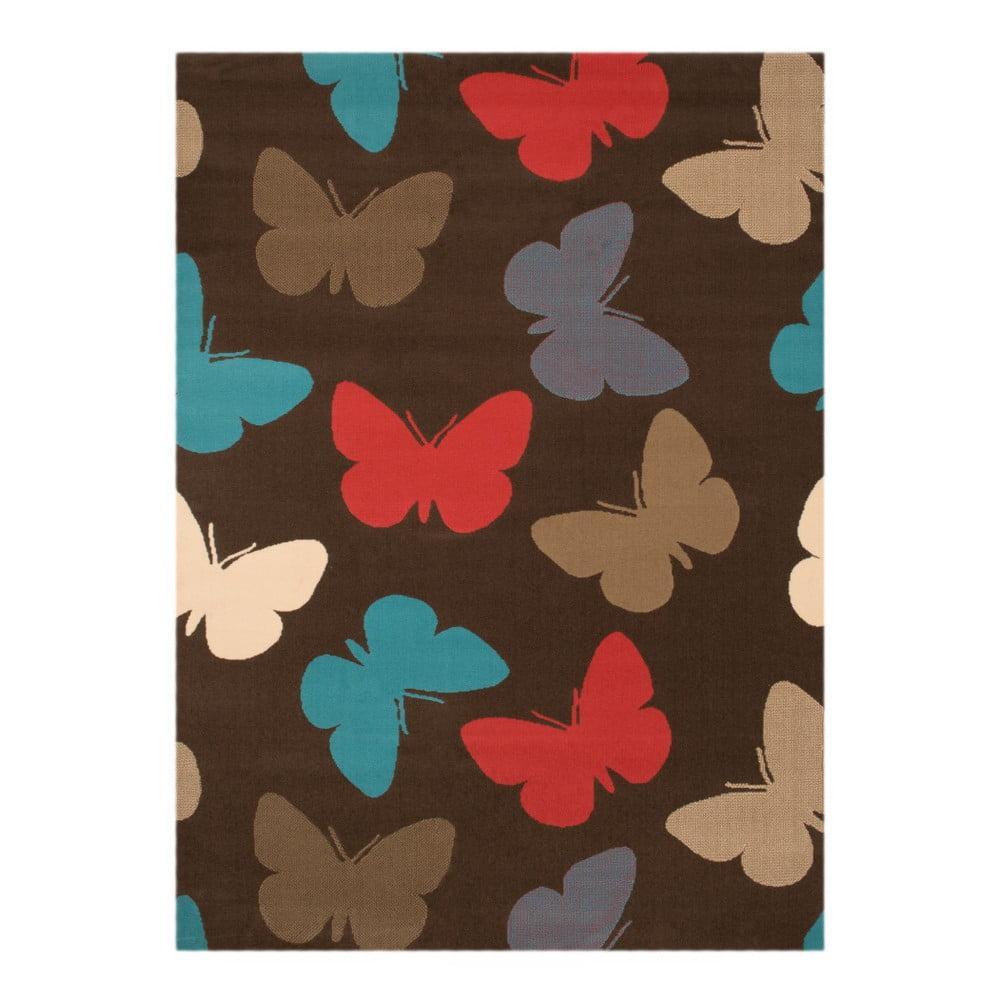 Detský koberec Zala Living Butterfly, 140 × 200 cm