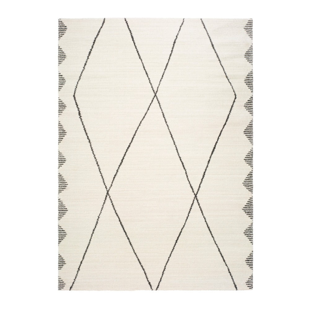 Biely koberec Universal Tanum Duro, 120 x 170 cm