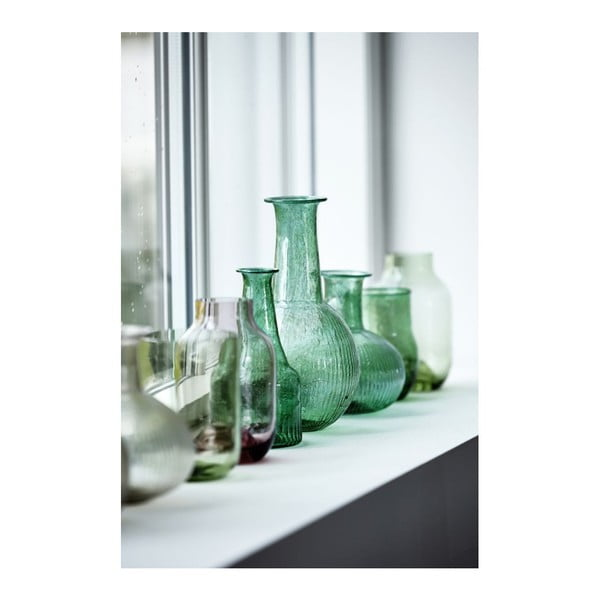 Svietnik Bottle Green, 36 cm