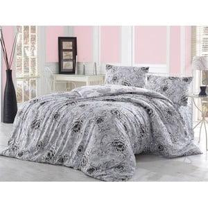 Obliečky s plachtou Perge Grey, 200x220 cm