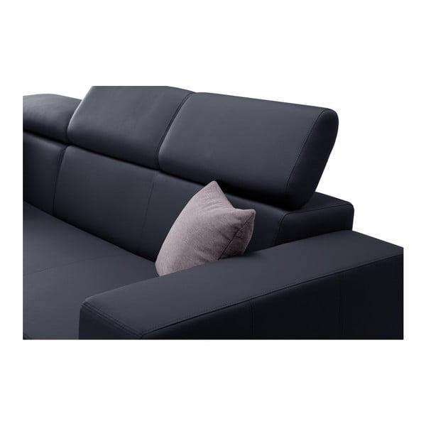 Tmavomodrá rozkladacia sedačka Interieur De Famille Paris Tresor, ľavý roh