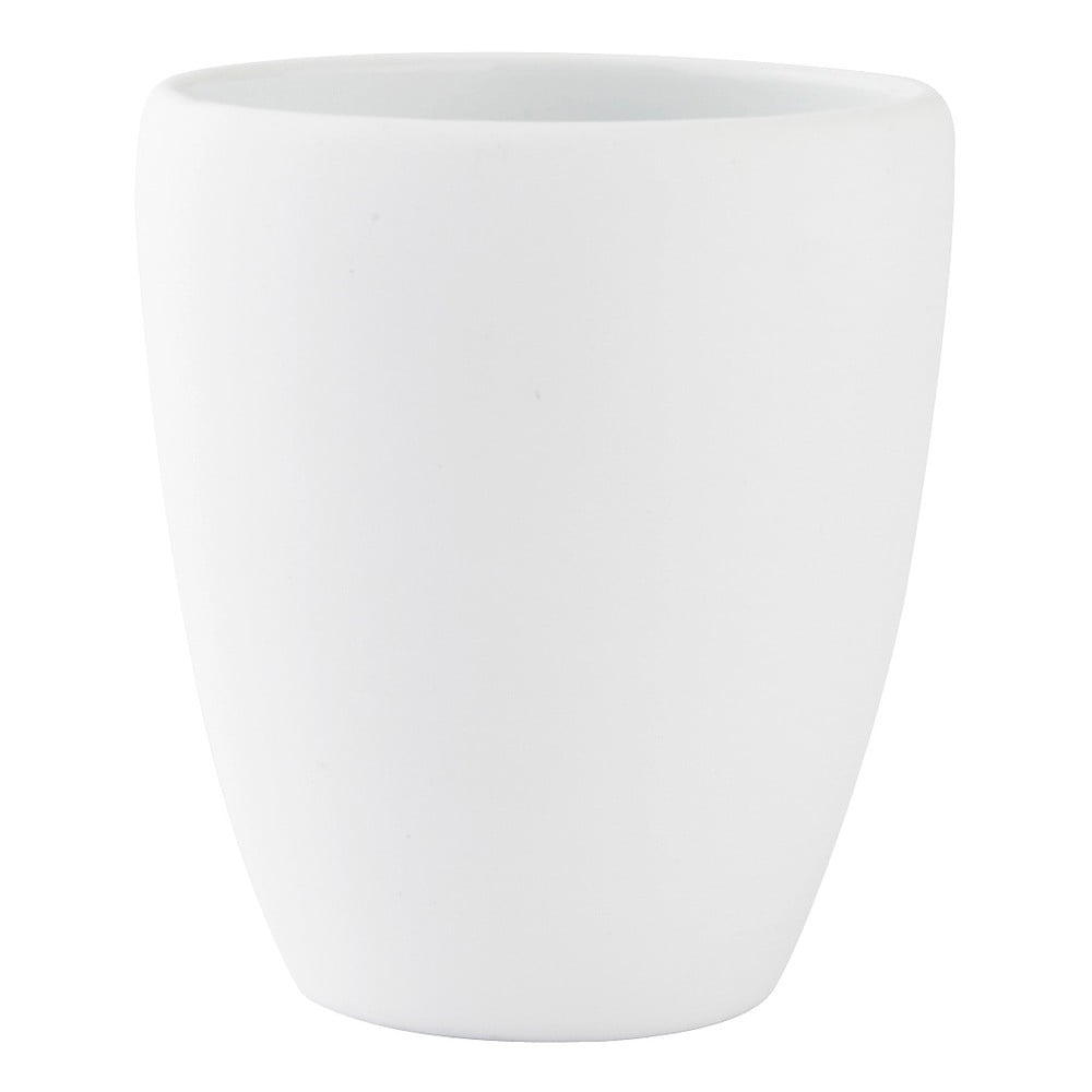 Biely pohárik na zubné kefky Zone Soft