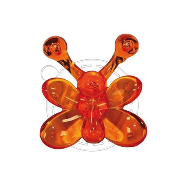 Vešiak na uteráky s prísavkou Lisa Orange
