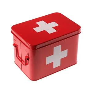 Plechová dóza na lieky First Aid