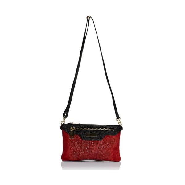Kožená kabelka Markese 144 Red