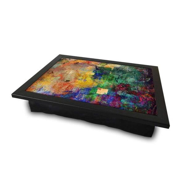 Servírovací podnos s vankúšom na spodnej strane Abstract, 36 × 46 cm