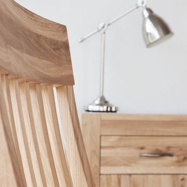 Jedálenská stolička z dubového dreva Fornestas Goliath