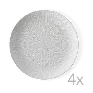 Sada 4 tanierov Granaglie Blanc, 27 cm