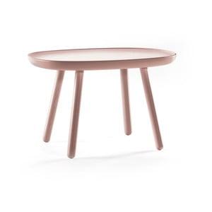 Drevený odkladací stolík EMKO Naive, ⌀ 41 cm