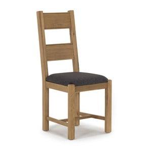 Jedálenská stolička z dubového dreva VIDA Living Breeze Tina