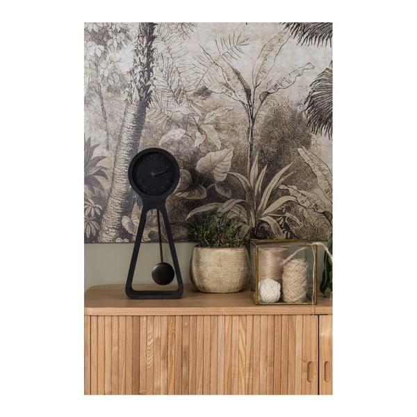 Čierne betónové stolové hodiny Zuiver Pendula