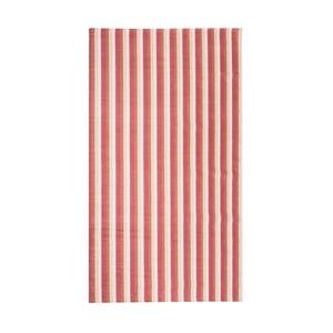 Červenooranžový koberec Floorita City Loft Stripes, 80 x 130 cm