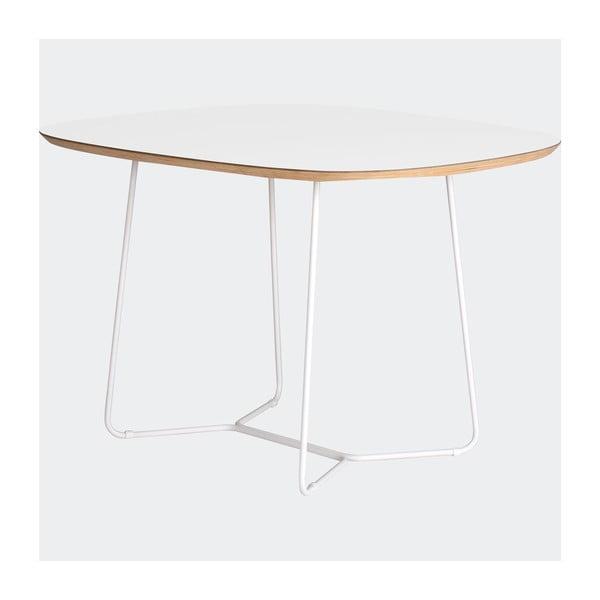 Stôl Maple stredný, biely