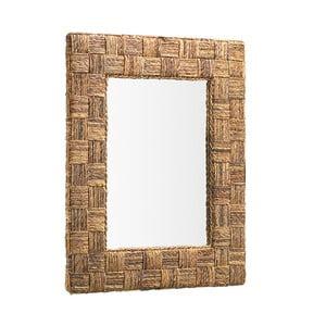 Nástenné zrkadlo s ratanovým rámom Moycor Rattan