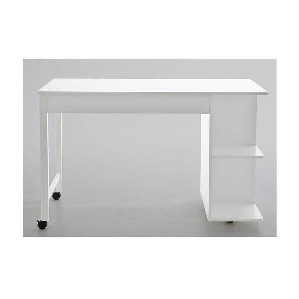 Pracovný stôl Buddy, biely