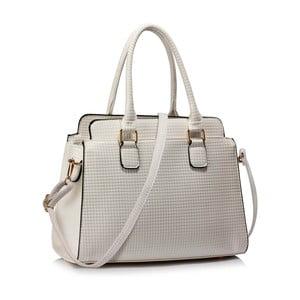 Biela kabelka L & S Bags Hugo