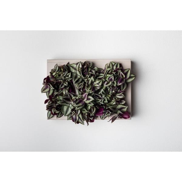 Vertikálny kvetináč HOH! Grigio, 38x27 cm