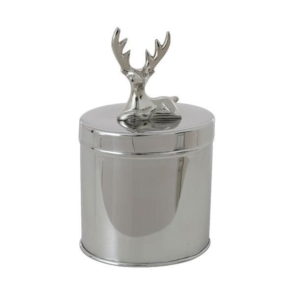 Dekoratívny oválny box Deer
