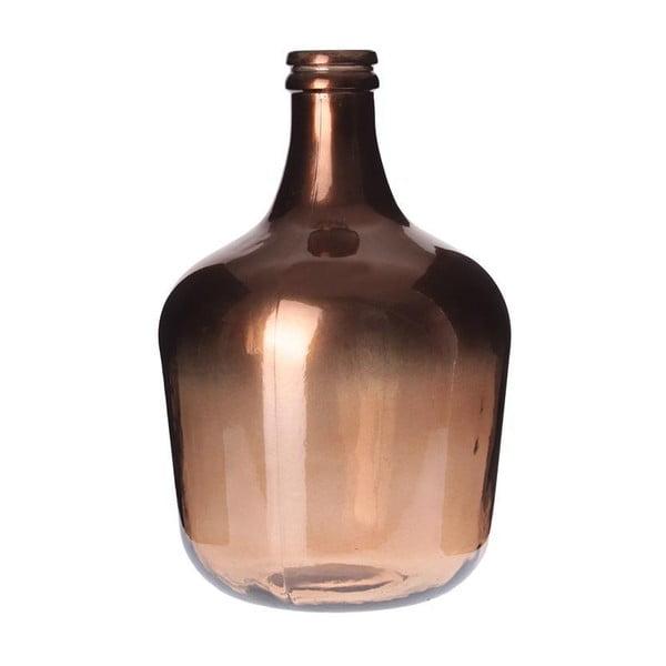 Sklenená váza Inart Copper
