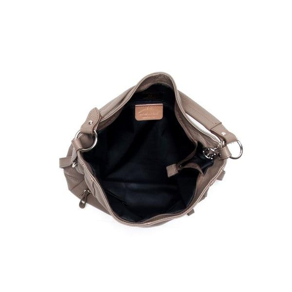 Kožená kabelka Mangotti 1136 Fango
