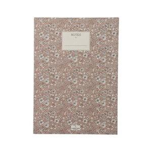 Zápisník A Simple Mess Nynne Cameo Brown, 25×18 cm