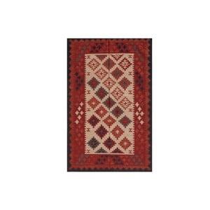 Vlnený koberec Kilim No. 727, 155x240 cm