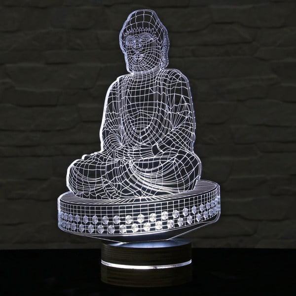 3D stolová lampa Budha