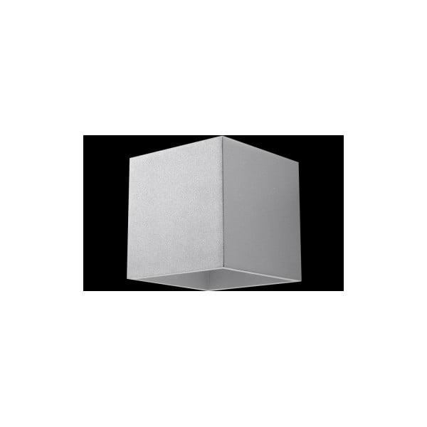 Sivé nástenné svetlo Nice Lamps Geo 1