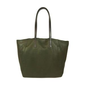 Zelená kožená kabelka O My Bag Jazzy Less