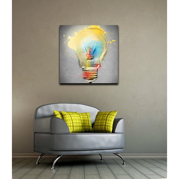 Obraz Bulb, 60×60 cm