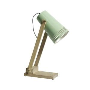 Zelená stolová lampa Nordal Retro