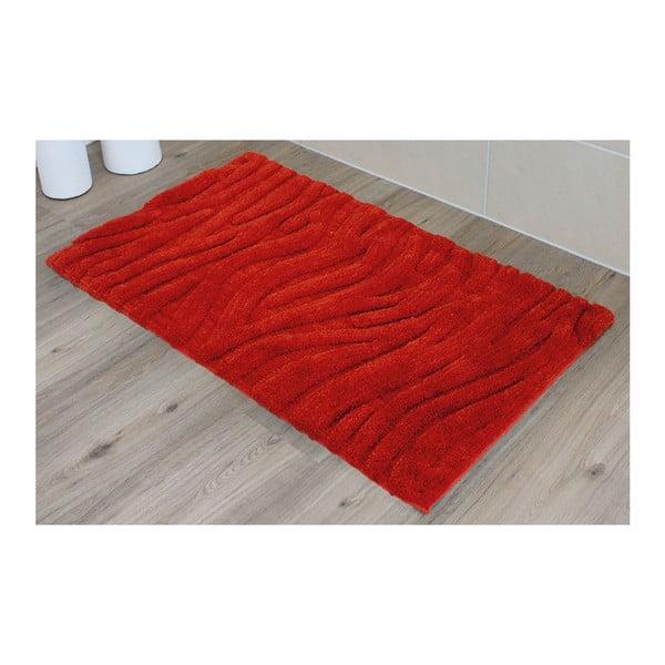 Kúpeľňová predložka Welle Red, 60x100 cm