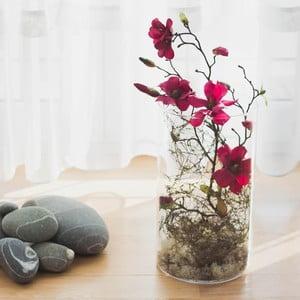 Kvetinová dekorácia od Aranžérie, vínová magnólia vo váze