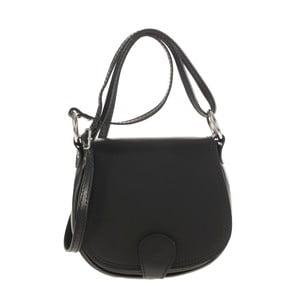 Kožená kabelka Ore Diece Livorno, čierna