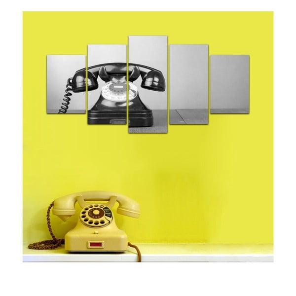 Viacdielny obraz Black&White no. 52, 100x50 cm
