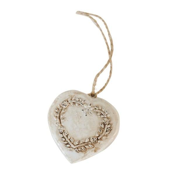 Dekoratívne závesné srdce Antique Heart