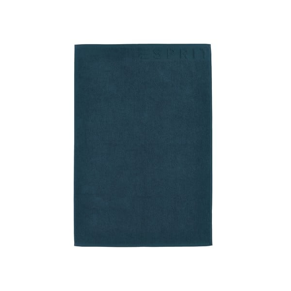 Kúpeľňová predložka Esprit Solid 60x90 cm, džínsovo modrá