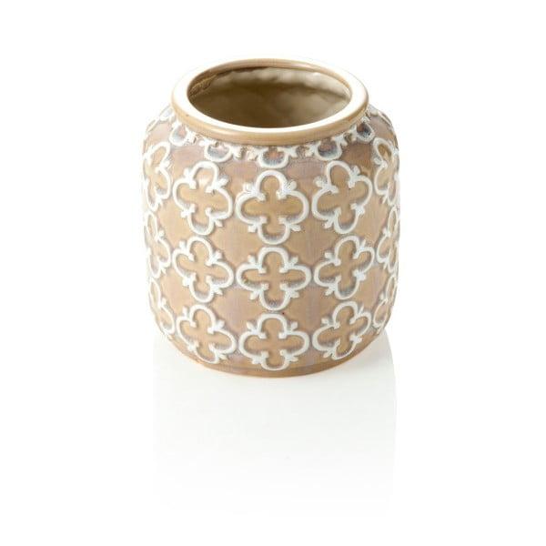 Hnedá váza Marzapane