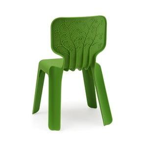 Detská zelená stolička Magis Alma
