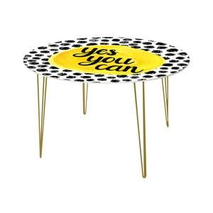 Jedálenský stôl Yes You Can, 120 cm